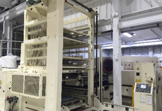 素材供給、製品集積システム サイクルローダー ASR-48M ASR-44M